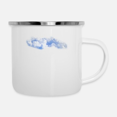 Cloud Cloud - Enamel Mug
