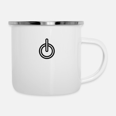 Turn TURN ON - Enamel Mug