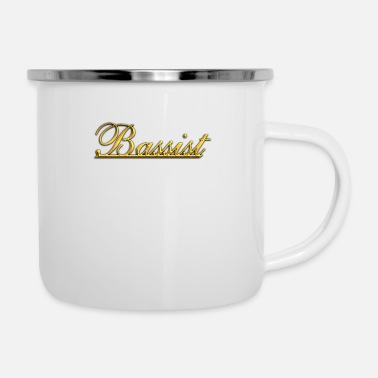 Bassist Golden Bassist - Enamel Mug