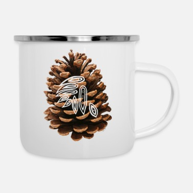 Mark Something Pine-cone Mark 4 - Camper Mug