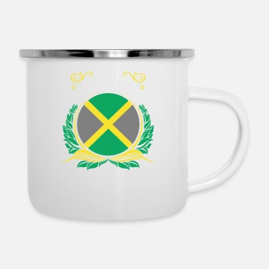 Jamaica This Is Jamaica - Enamel Mug