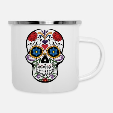 Day Of The Dead Day of the dead - Enamel Mug