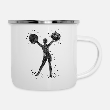 Cheerleader Cheerleader - Enamel Mug