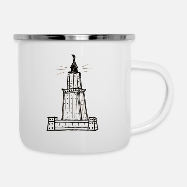 Lighthouse lighthouse - Enamel Mug
