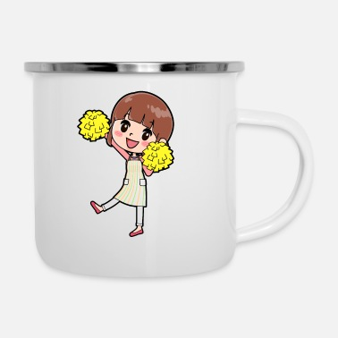 Mother Cheerleader - Enamel Mug