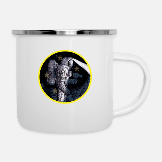 Nasa Mugs & Drinkware - Space Travel Nasa - Enamel Mug white
