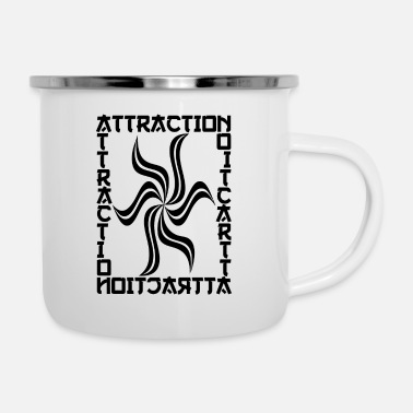Nerd attractionlaw - Enamel Mug
