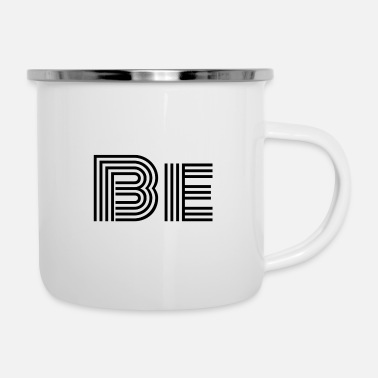 Black Be (in black) - Camper Mug