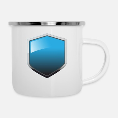 Shield Shield - Enamel Mug