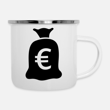Euro Bag of money euro - Camper Mug
