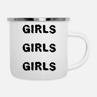 Girl Girls girls girls - Camper Mug