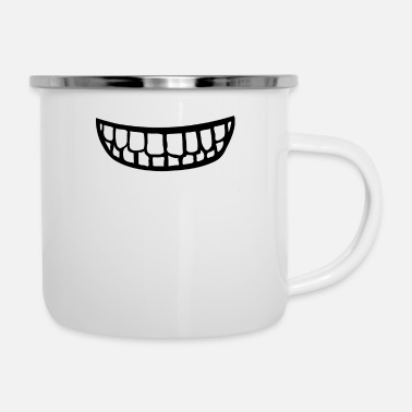 Teeth Teeth - Enamel Mug