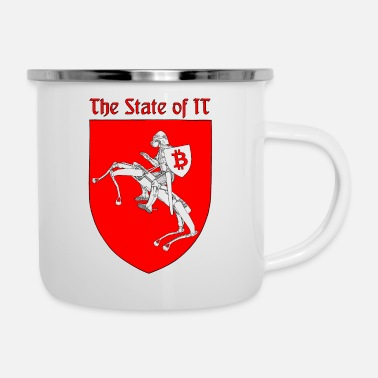 State The State of IT - Enamel Mug