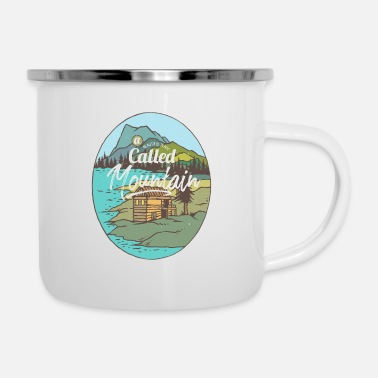 Lake Beautiful Place called Mountain - Camper Mug