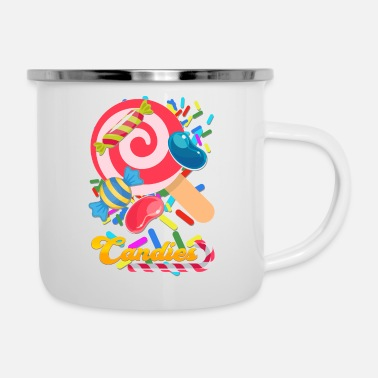 Candy candies - Enamel Mug