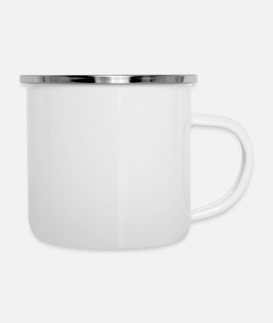 Basketball-king-of-the-court Mugs & Cups - King Of The Basketball Court - Enamel Mug white