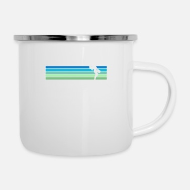 Retro Cheerleading - Enamel Mug