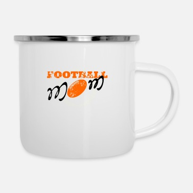 American Football Football mom, American football - Enamel Mug