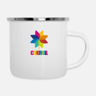 Color Colorful - Enamel Mug
