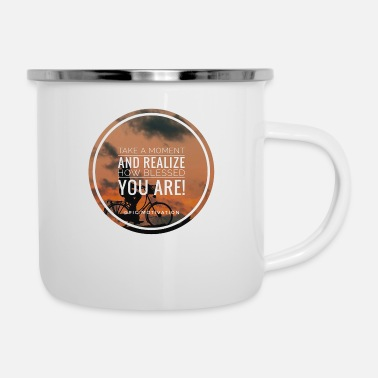 Bless You blessed you - Enamel Mug