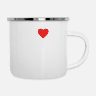 Association Football hobby gift birthday i love ASSOCIATION FOOTBALL - Enamel Mug