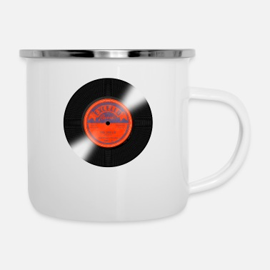 Record Label Excello Record Label - Enamel Mug
