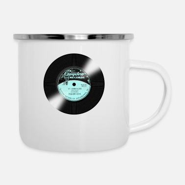Record Label Guyden Record Label - Enamel Mug