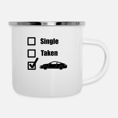 Tuner Car Guy Tuner Drifting Funny Gift Idea - Enamel Mug