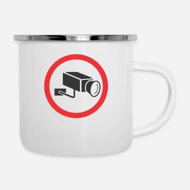 Video Video Control - Enamel Mug