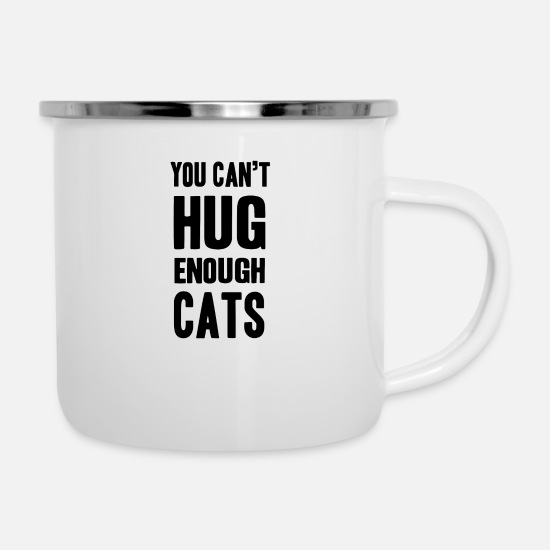 Love Mugs & Drinkware - Pet - Enamel Mug white