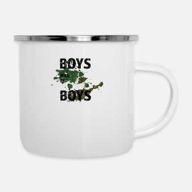 Boy BOYS WILL BE BOYS - Camper Mug