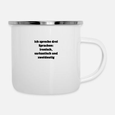 Language languages - Enamel Mug