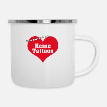 Ink no ink - Enamel Mug