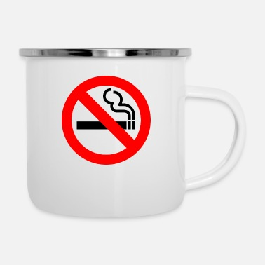 Smoking No Smoking - Camper Mug
