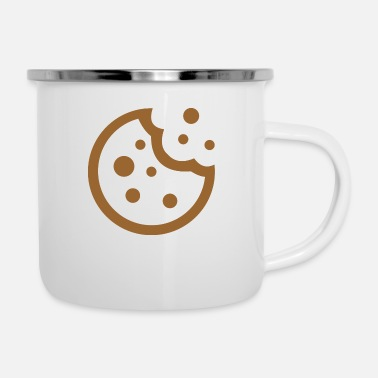 Rest the rest of the biscuits - Enamel Mug