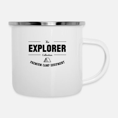 Collections The Explorer Collection - Enamel Mug