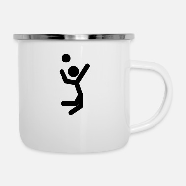Volley Volley Ball Jump Shot - Camper Mug