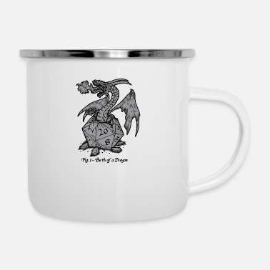 Birth Name Birth Of A Dragon - Enamel Mug