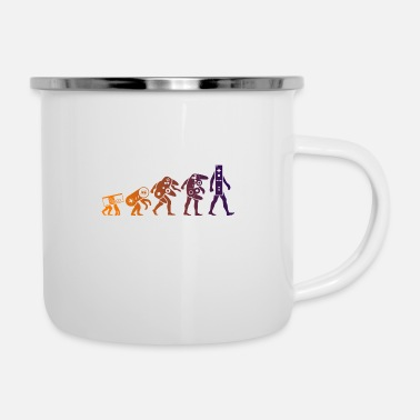 Evolution nintendo evolution - Enamel Mug