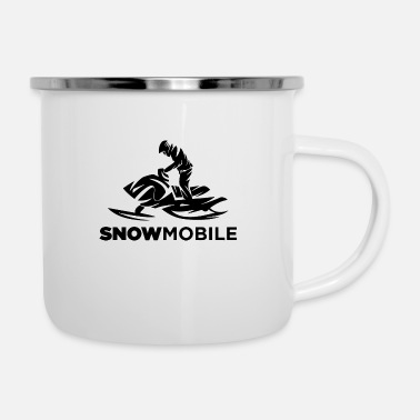 Mobile Phone Snow mobile cool style - Camper Mug