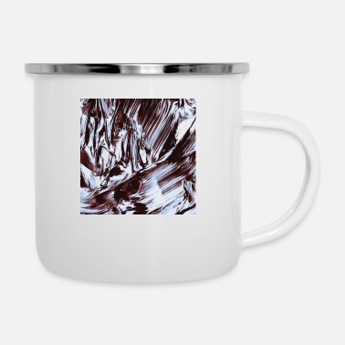 Pattern Abstract flow painting v1 - Camper Mug