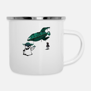 Lift Elevator Force Lift - Enamel Mug