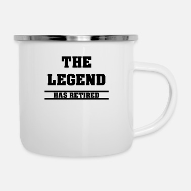 Prohibition The Legend Is Retired Retiree Pension Alt - Camper Mug
