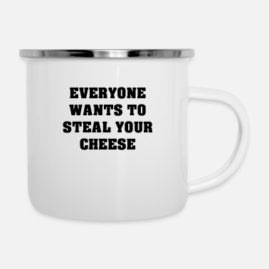 Steal Steal Cheese - Enamel Mug