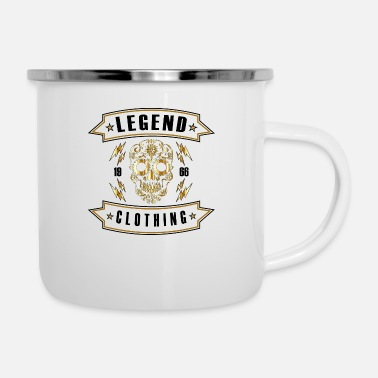 Gold Legend Clothing Gold Skull Mojo Design Tee - Enamel Mug