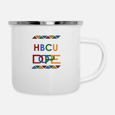 My HBCU is Dope - Enamel Mug