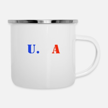 Postmark 4th of July - Enamel Mug