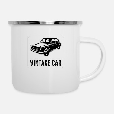 Morning Car Badge and Logo good for print funny - Enamel Mug