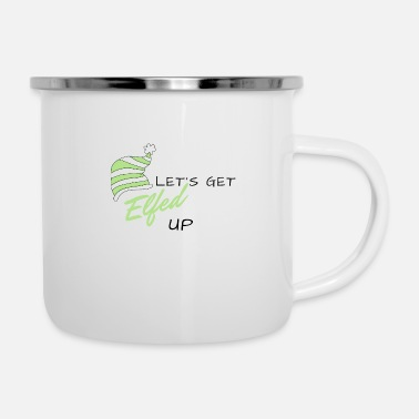 Gobelin Let's Get Elfed Up - Enamel Mug