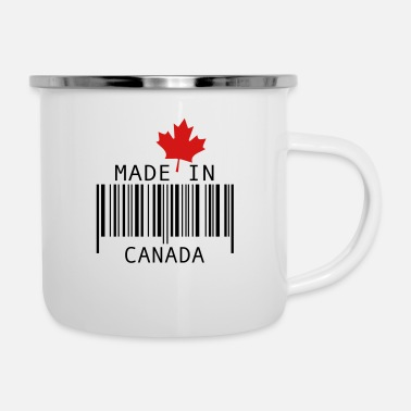 Ontario Made in Canada Red - Enamel Mug